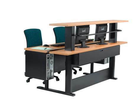 bureau reglable en hauteur mobilier de bureaux 06 sud tertiaire cannes mandelieu