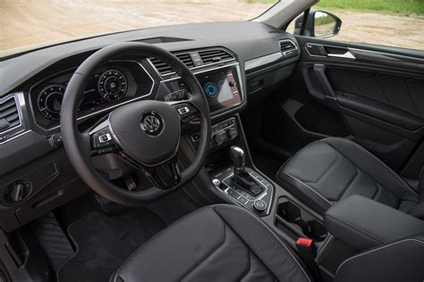 volkswagen tiguan 2018 interior vw s new 2 0l turbo is more efficient more powerful and