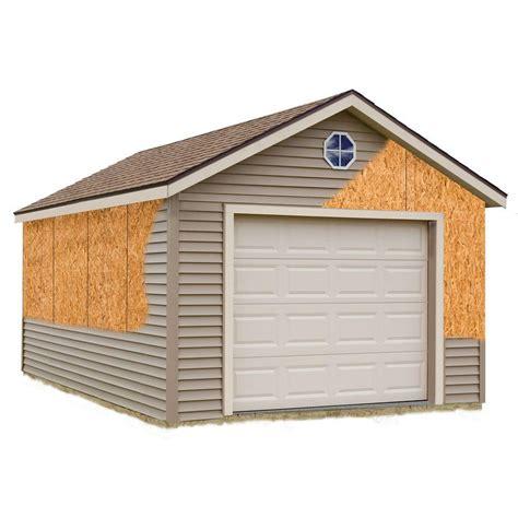 home depot garage best barns greenbriar 12 ft x 24 ft prepped for vinyl