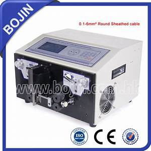 Bj-ht Electrical Flat Cable Stripper Machine
