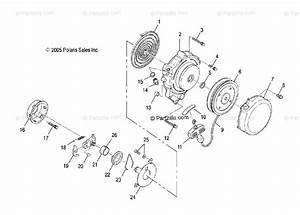 Polaris Atv 2003 Oem Parts Diagram For Recoil Starter