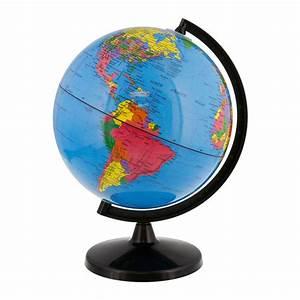 "8"" Inch (20cm) Blue Ocean Rotating Desktop World Earth"