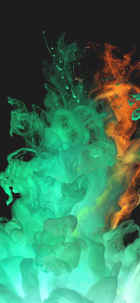 aa red green smoke art texture wallpaper