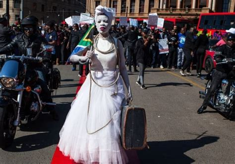 Hundreds Of South African Men March Against Abuse Of Women