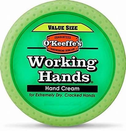 Hands Working 193g Jar Value Okeeffes Keeffe