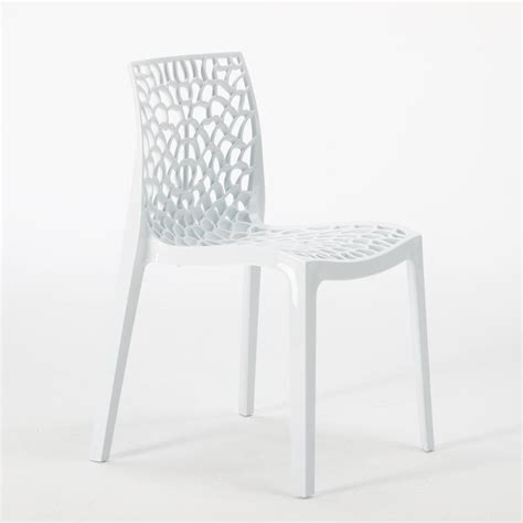 chaise designe plastic chair kitchen polypropylene stacking garden