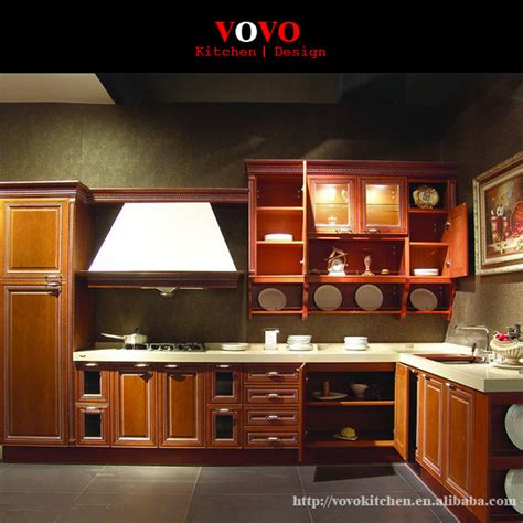 solid plywood kitchen cabinets aliexpress buy antique solid wood kitchen cabinet 5603