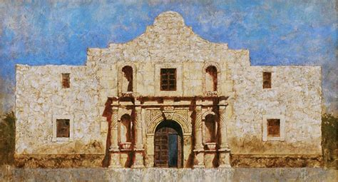 Paintings Of Historic Texas Churches