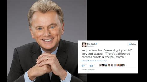 pat sajak spins climate change  twitter  washington