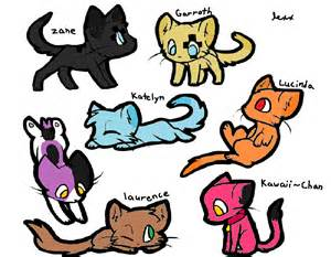 Aphmau Cats Characters