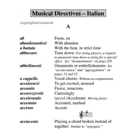 Elementary, my dear noah ✪ a brief introduction to music terminology ✪ what is a 'movement' in classical music terminology Cirone-Pocket Dictionary of Foreign Musical Terms | SHAR ...