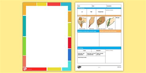 Eyfs Individual Mark Making Assessment Pack  Mark Making