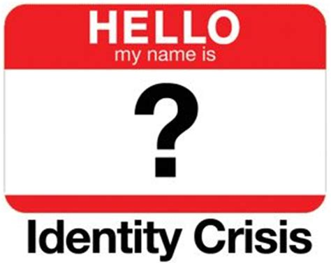 identity crisis psychology today
