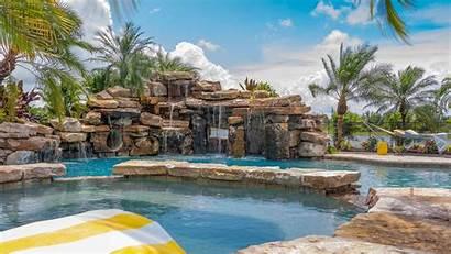 Pools Lucas Insane Pool Lagoons Custom Backyard
