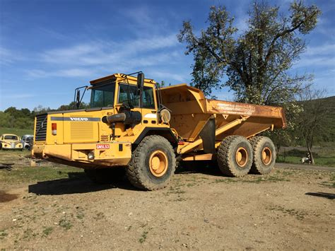 volvo heavy 1999 volvo a30c haul truck pacific coast iron used