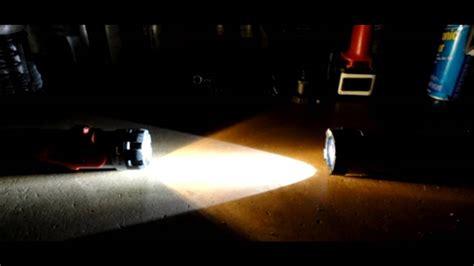 xenon led vs flashlight