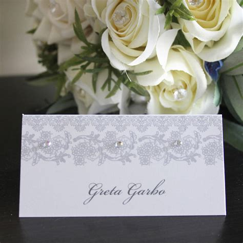 wedding place card  card   creative