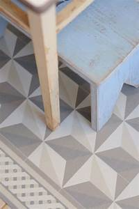 Tapis Vinyl Salon : carreaux de ciment 10 rev tements de sol imitation carreaux de ciment c t maison ~ Teatrodelosmanantiales.com Idées de Décoration