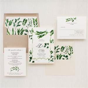 eucalyptus green wedding invitations beacon lane With wedding invitations with eucalyptus