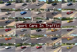 Sport Cars Traffic Pack ATS V24 Mod American Truck Simulator Mod ATS Mod