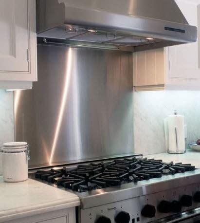 stainless steel backsplash frigo design
