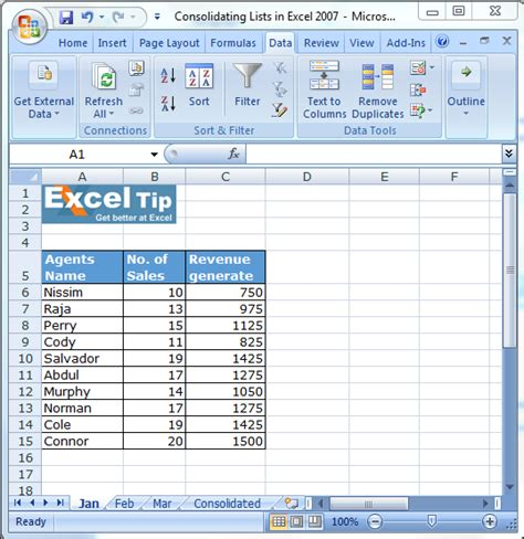 Excel Combine Multiple Worksheets Into One Pivot Table  How To Consolidate Multiple Ranges Into