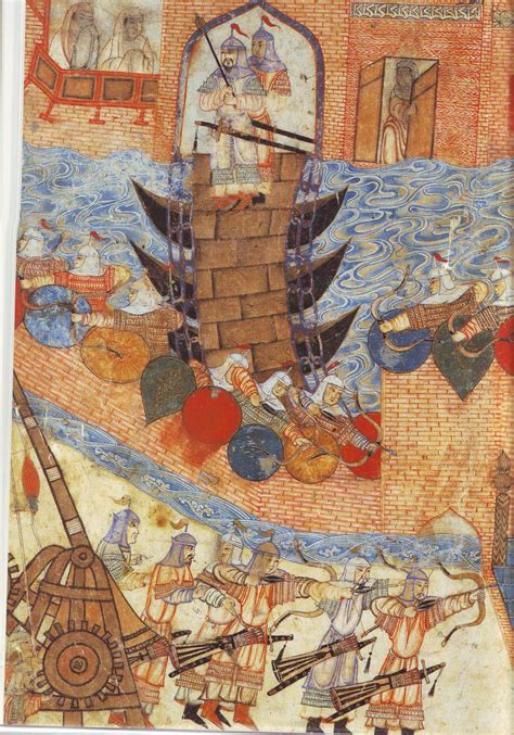 city siege 4 file painting of hülegü s army attacking city with