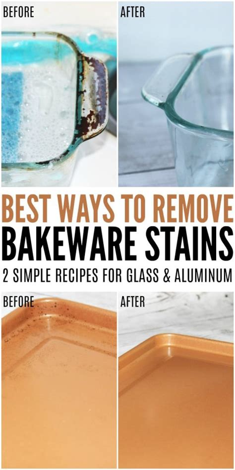 Best Way To Remove Bakeware Stains