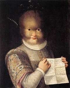 Portrait of Antonietta Gonzalez - Lavinia Fontana ...
