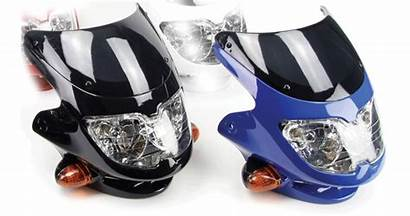 Motorbike Headlight Fairing Universal Dash Yourself Bikermart