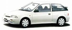 Suzuki Cultus Swift Gti Barina Justy Metro Firefly 1989