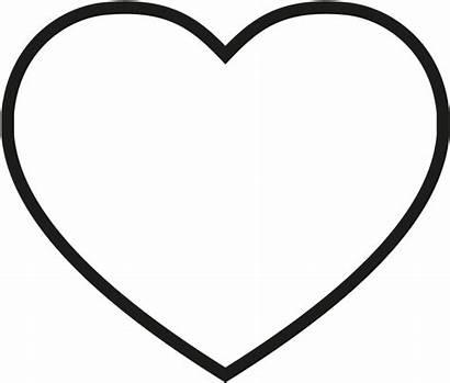Heart Coloring Clipart Transparent Empathy Clip Pinclipart
