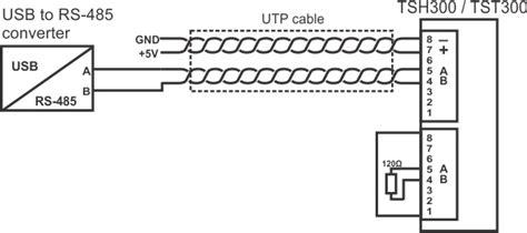 How Test Modbus Rtu Sensor Tsh Tst
