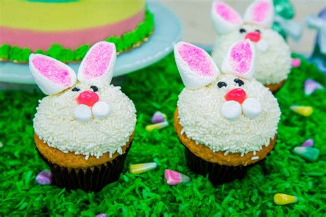 recipes easter bunny cakes hallmark channel