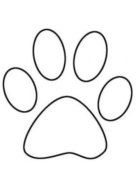 paw print games dog paw drawing bunny paws dog outline