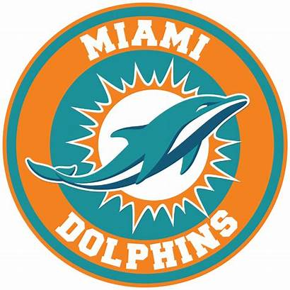 Dolphins Miami Clipart Decal Circle Sticker Transparent