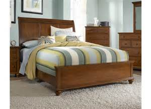 broyhill hayden place light cherry sleigh bed