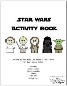 Star Wars Activity Book Printable