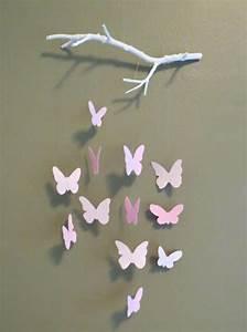 Schmetterlinge Aus Papier : 1001 bastelideen aus papier blumen girlanden und t rkr nze ~ Lizthompson.info Haus und Dekorationen