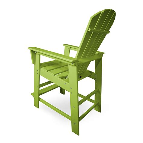 polywood south counter height outdoor chairs