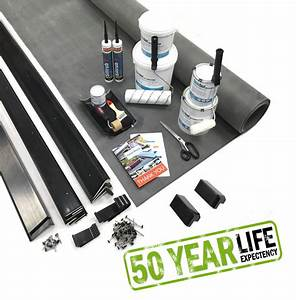 Epdm Rubber Roofing For Flat Roof Extensions