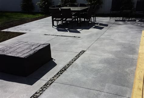 modern concrete patio island modern patio new