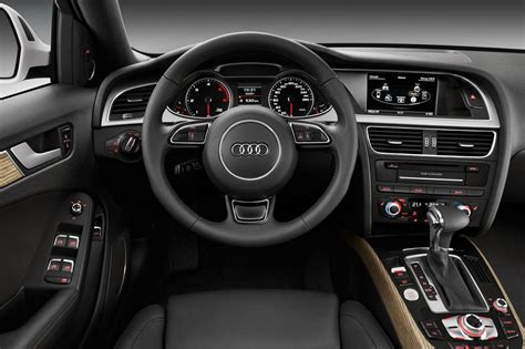 photo a4 allroad quattro interieur