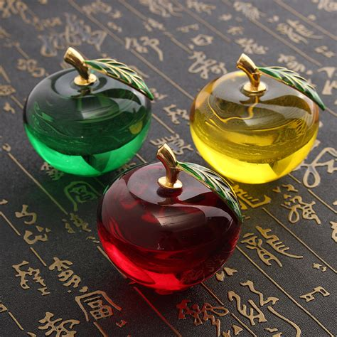 home decor gifts apple shape paperweight unique home decorations