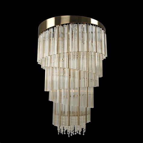 brushed gold light fixture allegri 029852 espirali brushed chagne gold foyer light