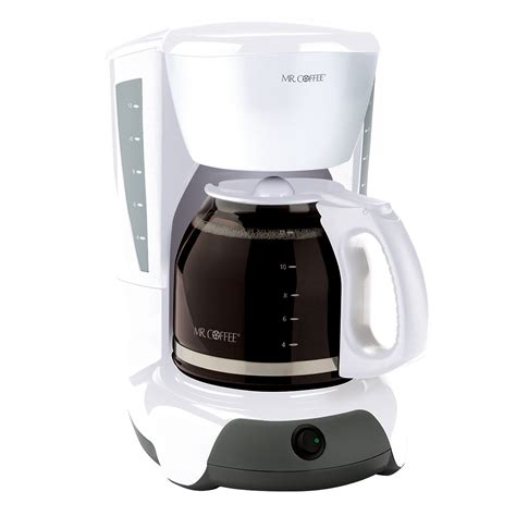 Celebrate national dessert day by indulging in these mr. Mr. Coffee® Simple Brew 12-Cup Switch Coffee Maker White, VB12-NP