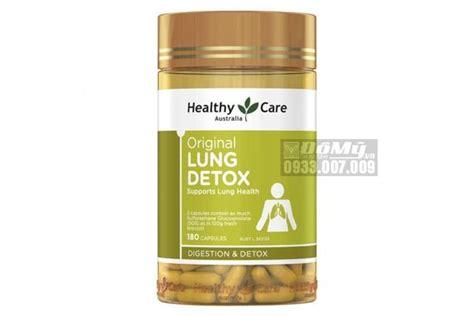 Viên Uống Giải độc Phổi Healthy Care Original Lung Detox