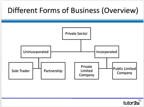 Different Forms Of Business (overview)
