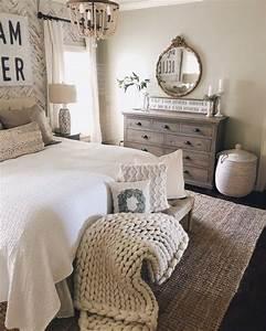 47, Cozy, Rustic, Farmhouse, Bedroom, Design, Ideas