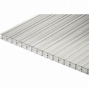 Plaque Polycarbonate Alvéolaire 4mm : plaque de polycarbonate leroy merlin plaque ~ Dailycaller-alerts.com Idées de Décoration